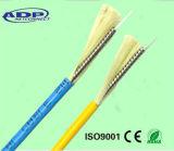 Câble fibre optique simple/multi de câble fibre optique blindé du mode GJFJV