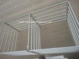 판매를 위한 6개의 바 강철 가축 위원회 또는 가축 Livetsock 최신 담궈진 직류 전기를 통한 위원회 또는 목장 장비 가축 Panel/1.8X2.1m 가축 가축 위원회이라고 직류 전기를 통하는