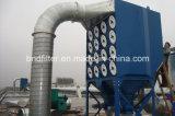 Colector de polvo hacia abajo modular del cartucho del flujo