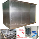 Embossed Aluminium Finish Polyurethane Cold Room Cold Storage for Food