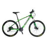 Bici de montaña rentable de la fibra del carbón 27-Speed (una cantidad más grande, precio bajo)