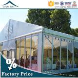 Tente extérieure matérielle en aluminium de banquet de pavillon de jardin avec le mur en verre