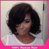 Peruca cheia do ás da peruca brasileira do cabelo humano (BD-YS-043)