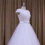 Schutzkappen-Hülsen-Hochzeits-Kleid mit Brücken