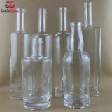 Frascos de vidro extra de sílex para o licor superior (decoração múltipla da etiqueta Doable)
