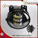 4 de Lichte Koplamp van de Mist van de duim 30W voor Jeep