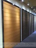 Panneaux de mur 3D décoratifs de feuille décorative de PVC