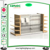 Шкафы и полки древесины металла супермаркета