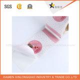 Etiqueta engomada adhesiva impermeable de encargo del nuevo diseño