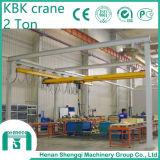 Guindaste aéreo flexível do guindaste de Kbk