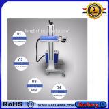 Macchina ottica della marcatura del laser della fibra della mosca di prezzi di fabbrica per /Titanium di rame /Steel/ABS/Pes