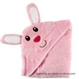 100% algodón con capucha toalla de baño del bebé / manta