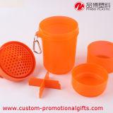 Bottiglia separabile materiale portatile multicolore della bevanda dell'acqua della plastica pp
