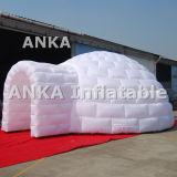 Grande parte superior transparente de anúncio da barraca inflável da abóbada