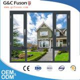 最もよい価格のアルミニウム開き窓のWindowsかブラインドの内部の倍のガラス窓