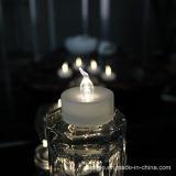 원격 제어를 가진 최신 판매 건전지에 의하여 운영하는 초 LED Tealight