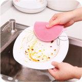 Spazzola di categoria alimentare termoresistente durevole variopinta di lavaggio del piatto del silicone dello strumento della cucina