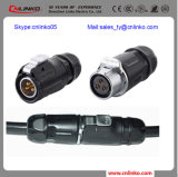 Street Lamp Lighting를 위한 3 Pin Wire Connector/Connector Cable를 방수 처리하십시오