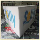 10ftの展覧会ショー(三角のタイプ)のためのハングの印の旗