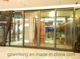 Puerta deslizante de aluminio del último del diseño perfil de aluminio termal de la rotura
