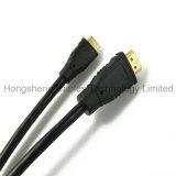 Mini HDMI cabo rápido da produção 2.0V