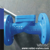 던지기 또는 Ductile Iron Flexible Disc Swing Check Valve