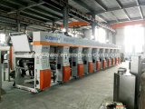 8 Farbe Computer Control Gravure Printing Machine für Paper