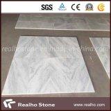 Pedra de mármore branca oriental da natureza de China para a telha de revestimento
