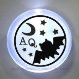 Distintivo lampeggiante di marchio LED di Customed per i regali di promozione (3569)