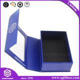Изготовленный на заказ логос упаковывая складную электронную коробку подарка индикации продукта
