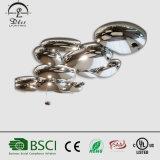 호텔 훈장을%s 현대 호화스러운 금속 LED 작은 물방울 조약돌 모양 천장 램프