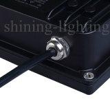 A lâmpada de inundação de alumínio de fundição IP67 das lâmpadas 10W do bulbo ilumina AC85-265V Graden que ilumina a luz ao ar livre
