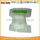 Vente en gros remplaçable ultra-mince de couche-culotte de bébé de couche-culotte somnolente de bébé