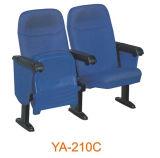 Silla barata azul de la película de la silla de la iglesia del sitio de los media de la reunión de la conferencia del auditorio del sofá del teatro casero de la venta caliente mejor