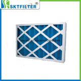 Горячей воздушный фильтр надувательства голубой плиссированный панелью