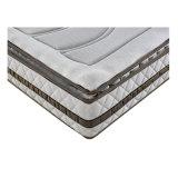 Colchón de espuma de memoria de primavera de bolsillo de tela de fibra de bambú