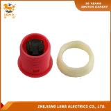 Commutateur de bouton poussoir électrique de 27.4mm Pbs-010 rouge