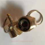 Válvula de cobre amarillo del tanque de almacenaje
