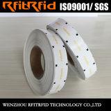 UHFの耐久財Adhisive&Nbsp; 反偽造品の特殊紙の容器RFIDのラベル