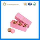 Коробка Macaron горячего сбывания упаковывая с бумажным рассекателем (напечатанная коробка macaron)