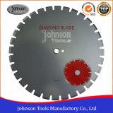 105-600mm 아스팔트 절단 잎: 용접된 다이아몬드 Laser는 아스팔트를 위해 톱날을