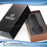 Montre/bijou/cadeau de luxe cadre de empaquetage en bois/papier d'étalage (xc-hbw-007)