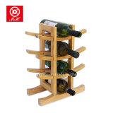 Crémaillère en bois en bois de pin de crémaillère de vin de bouteille à la maison des meubles 12