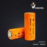 batterie au lithium élevée de drain de 35A Mnke 26650 3.7V 3500mAh