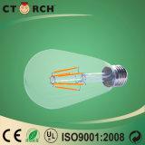 Glas-Aluminium des LED-Heizfaden-Licht-T der Serien-6W