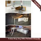Hx-Et14010 1.8メートル灰色L形MFCの支配人室の机