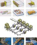Robusteza inteligente del envasado de alimentos con la aprobación del Ce