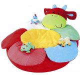 Custom Plush Swimming Seat brinquedo inflável de felpa de bebê