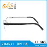 Monocolo di titanio Eyewear (9112-EW) del blocco per grafici di vetro ottici del Pieno-Blocco per grafici leggero variopinto