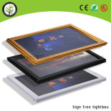 Ajustar marco de aluminio Super Slim Caja de Luz